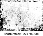grunge black and white distress ...   Shutterstock .eps vector #221788738
