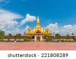 Laos Travel Landmark  Golden...