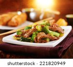 Chinese Beef And Broccoli  Sti...