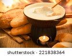 Cheese Fondue Traditional Swis...