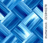 vector seamless blue geometric... | Shutterstock .eps vector #221843278