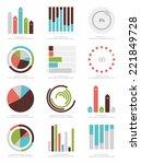 set of infographics elements | Shutterstock .eps vector #221849728
