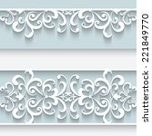 Paper Lace Background ...