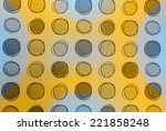 circle style wallpaper for home ... | Shutterstock . vector #221858248