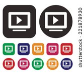 media icon . media player icon