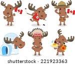 Canadian Moose Canada Mammal...