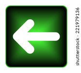 left arrow icon. internet... | Shutterstock . vector #221979136