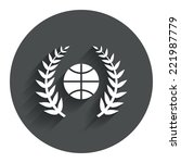 basketball sign icon. sport...