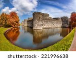 famous beaumaris castle in...