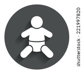 baby infant sign icon. toddler...