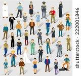 human infographics.vector... | Shutterstock .eps vector #222001846