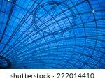 modern glass roof pattern in...   Shutterstock . vector #222014410