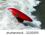 2006 Kayak Competition in Reno, Nevada - stock photo