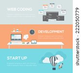 flat web design concepts. web...