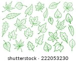 green forest and field leaves