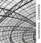 metal roof structure | Shutterstock . vector #222068428