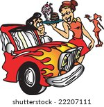 drive up diner | Shutterstock . vector #22207111