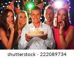 birthday party in club | Shutterstock . vector #222089734