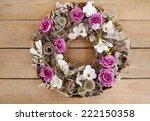 Door Wreath Made Of Artificial...
