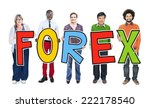 group of people standing... | Shutterstock . vector #222178540