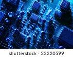 circuit board abstract... | Shutterstock . vector #22220599