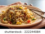 Fried Rice With Vegetables And...
