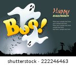 happy halloween  | Shutterstock .eps vector #222246463