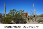 sonora  arizona  january 27 ... | Shutterstock . vector #222249379