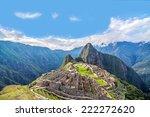 View Of Machu Picchu  Peru Wit...