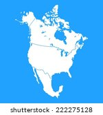 Us Canada Map Free Vector Art Free Downloads - Us and canada vector map