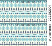 holidays vintage christmas... | Shutterstock . vector #222282004