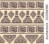 tribal vintage ethnic seamless... | Shutterstock .eps vector #222306580