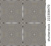 black and white geometric... | Shutterstock .eps vector #222308470