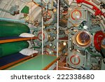 The Interior Of The Submarine ...