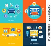 auto mechanic service... | Shutterstock . vector #222365260