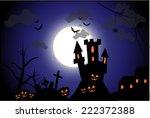 Halloween Spooky Illustration