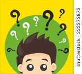 vector illustration question...   Shutterstock .eps vector #222373873