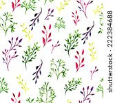 seamless pattern with... | Shutterstock .eps vector #222384688