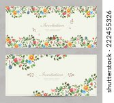 Cute Floral Invitation Cards...