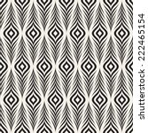 seamless pattern with zigzag... | Shutterstock .eps vector #222465154