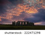 Stonehenge With Winter Solstic...