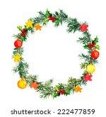 christmas tree  fir tree ... | Shutterstock . vector #222477859