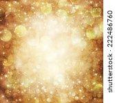 golden holiday abstract... | Shutterstock . vector #222486760