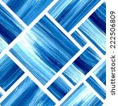 Stock vector vector blue geometric acrylic seamless background retro pattern 222506809