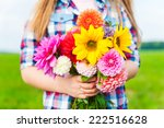 Beautiful Bouquet Of Bright An...