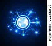 global business. | Shutterstock .eps vector #222522538
