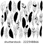vector set of stylized or... | Shutterstock .eps vector #222548866