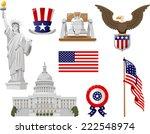american culture vector... | Shutterstock .eps vector #222548974
