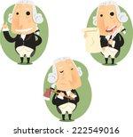 george washington president set ...   Shutterstock .eps vector #222549016
