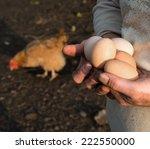 Farmer Holding Fresh Organic...